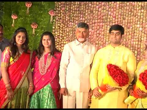 AP CM ATTENDED ENGAGEMENT OF DAUGHTER OF KESINENI NANI, MP AT ENIKEPADU ON 20102018