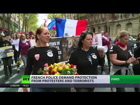 On the frontline: French police demand protection from protesters & terrorists