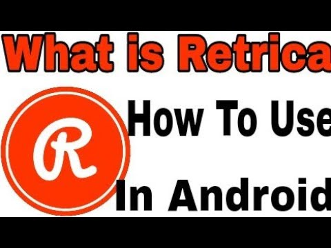 What Is Retrica || How Dose Work This App And Use Application In Android