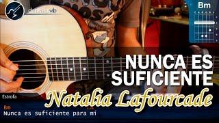 """Cómo tocar """"Nunca Es Suficiente"""" de Natalia Lafourcade en Guitarra -  (HD) Tutorial - Christianvib"""