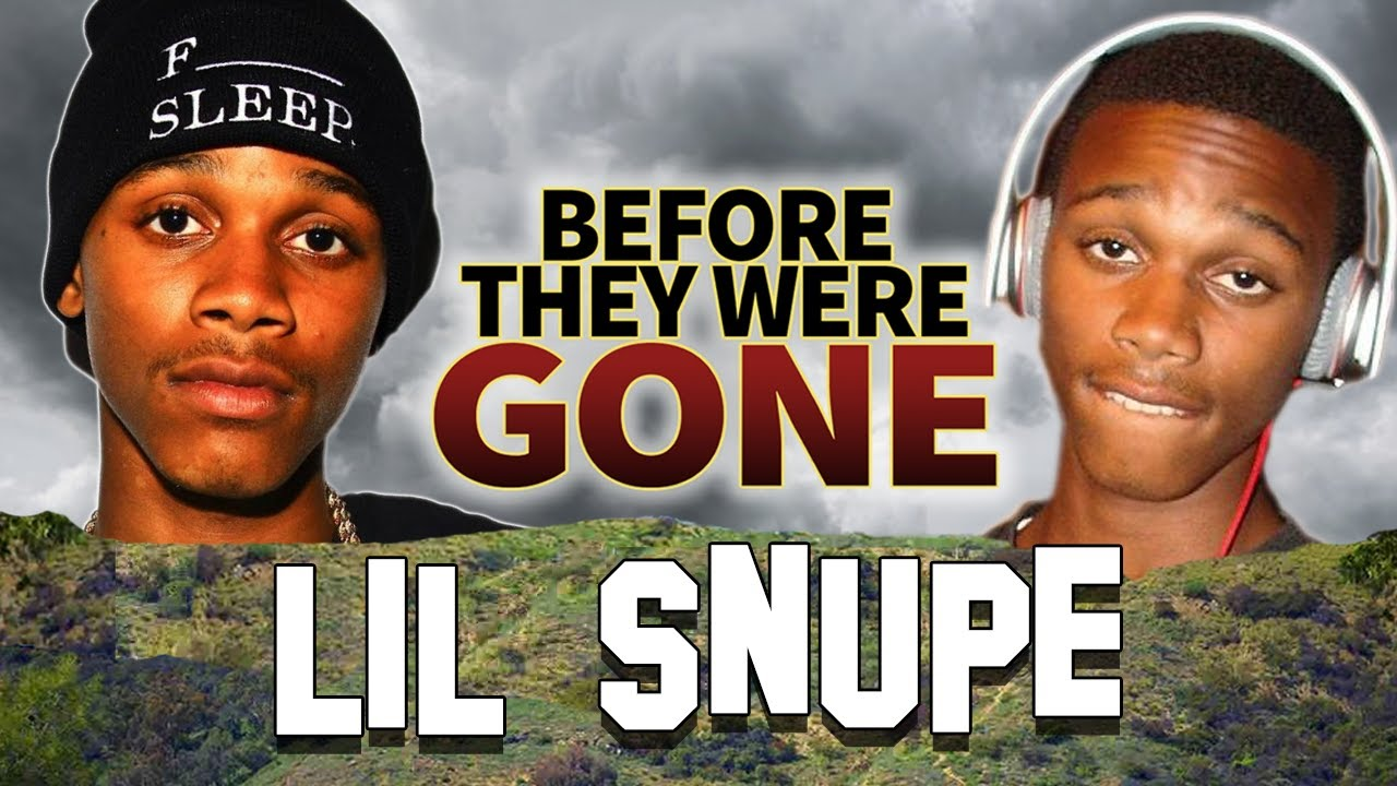 LIL SNUPE - Before They Were GONE