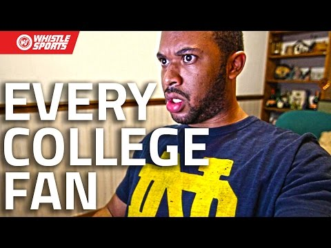 Every Fan In 90 Seconds | College Football 2016