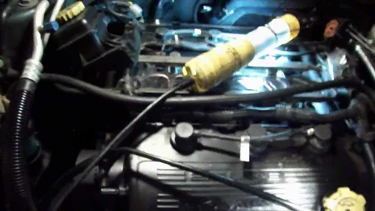 1996 to 2000 chrysler sebring convertible, timing belt & water pump 3 of 4  - youtube
