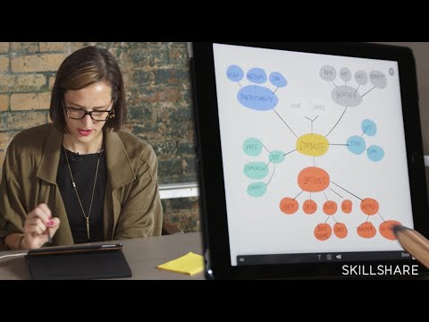 Creating a Mind Map with Catherine Madden and FiftyThree