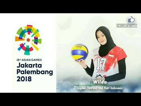 14 Daftar Nama Pemain Timnas Volly Putri ASIAN GAMES 2018