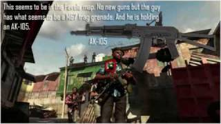 Modern Warfare 2 Confirmed Weapons, Vehicles, Perks, Camos, Attachments and Maps