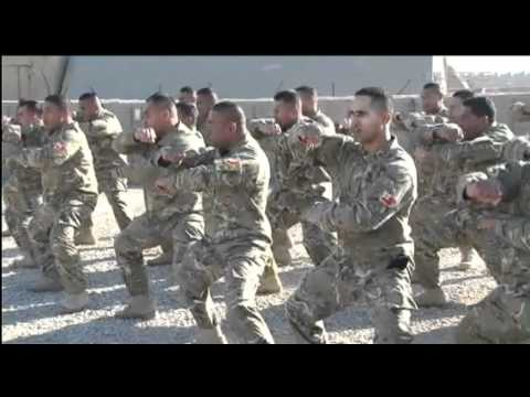 Tongans Hand Over In Fearsome Fashion | Forces TV