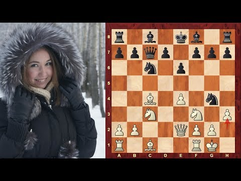 Chess Opening Traps #1: Sicilian Defence - the old Siberian Trap! - Smith-Morra Trap
