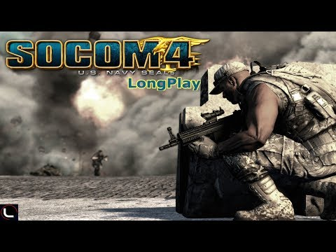 PS3 - SOCOM 4 U.S. Navy SEALs - LongPlay