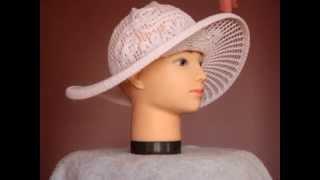 Шляпа женская летняя. Хлопок 100%. Вязанная.(, 2015-03-29T18:52:25.000Z)