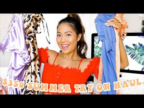 $350 Summer Clothing Try-On Haul Ft. Papaya