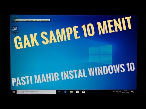 Di Video Kali ini Kita akan Share ke Kalian Cara Untuk Install Windows 10 Pro pada laptop atau kompu.
