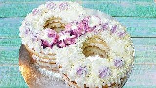Универсальный сливочно-сметанный крем для любого торта: два рецепта