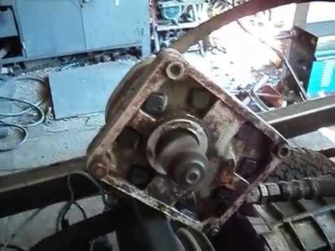 Минитрактор. Отключаемый привод насоса НШ-10. Часть3 - YouTube