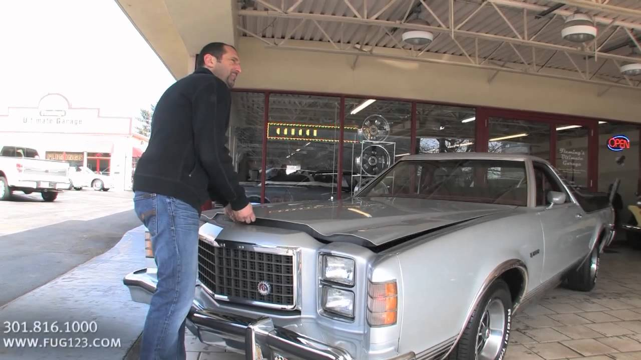 1978 ford ranchero gt for sale with test drive driving sounds and walk through video - 1978 Ford Ranchero