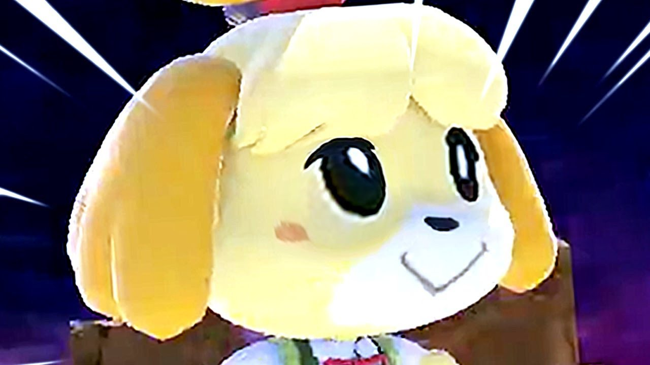 Super Smash Bros Ultimate All Characters Trailers & All Final Smashes So Far (Switch) Isabelle
