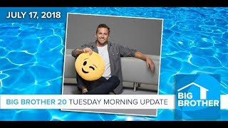 Big Brother 20 | Tuesday Morning Update, 7/17