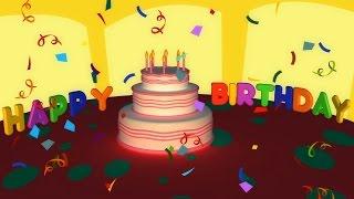 С днём рождения | Happy Birthday Song