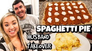 BEST SPAGHETTI PIE RECIPE | HUSBAND TAKEOVER | COOK WITH US