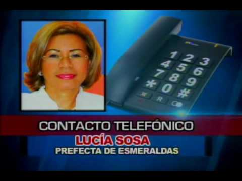 Contacto telefónico Lucía Sosa