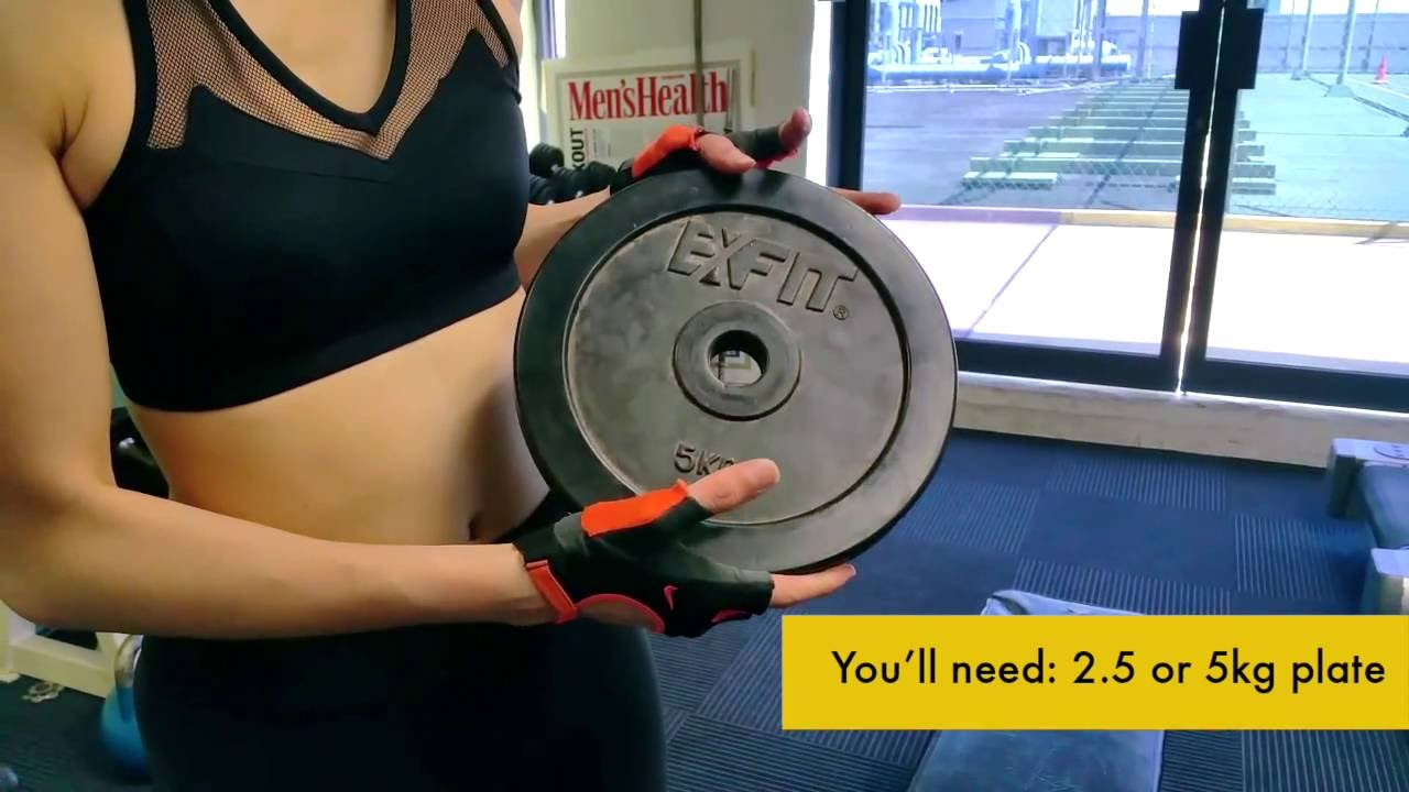 4 Easy Exercises To Get Rid Of Underarm Fat Youtube