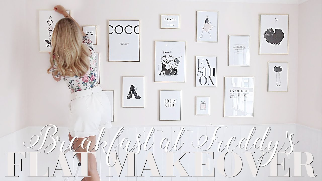 Flat makeover, episode NINE! Beautifying my London flat!   ~ Breakfast at Freddy's