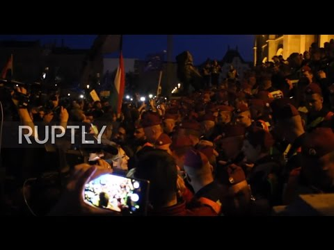Hungary: Protests against law targeting Soros-backed univers