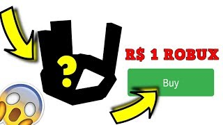 THE MOST EXPENSIVE HAT IN ROBLOX SOLD FOR 1 ROBUX.. *REAL*
