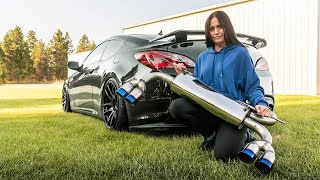 The Cheapest Genesis Coupe Exhaust