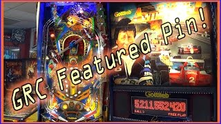 1995 Gottlieb MARIO ANDRETTI Pinball Machine ~ Kush Kettle Crash Dubstep Remix? ~ GRC Featured Pin!