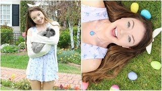 5 Easter/Spring Outfits + DIY Bunny Ear Headband! Thumbnail