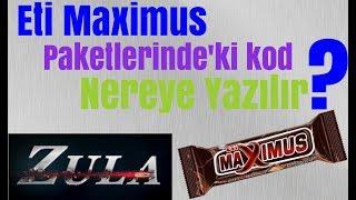 Zula Eti Maximus Paketlerindeki Kod Nereye Yazılır?