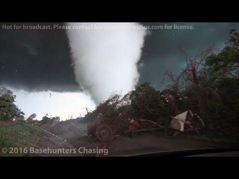 Violent Katie-Wynnewood, OK Tornado 5/9/2016 | Basehunters Chasing