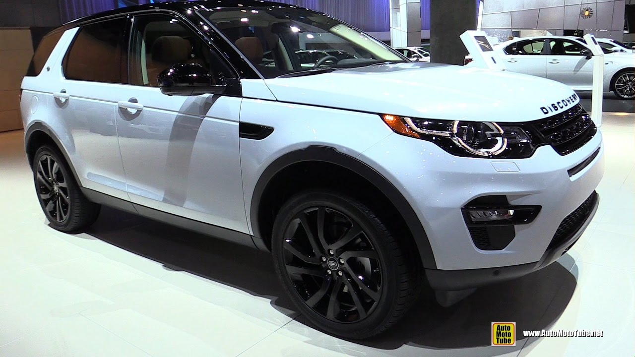 2017 Land Rover Discovery Hse Luxury Exterior And Interior Walkaround 2016 La Auto Show You