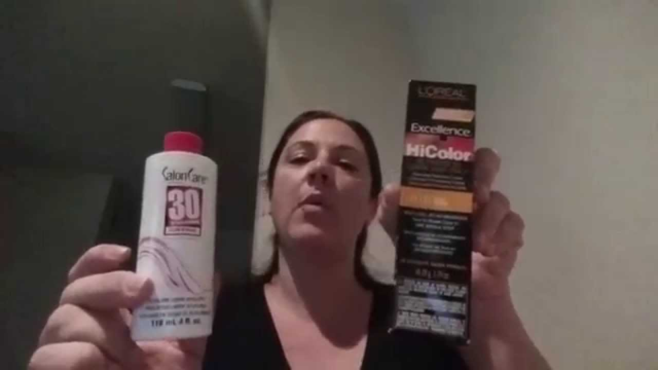 Loral Technique Hicolor Honey Blonde Review Youtube
