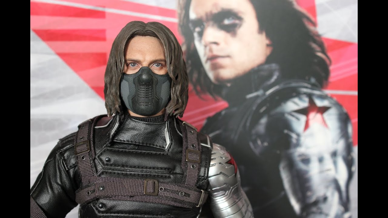 Captain America THE WINTER SOLDIER Hot Toys figure review ...