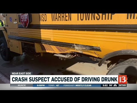 Police: Driver that hit school bus arrested for driving under the influence