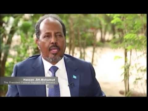 THE VILLASOMALI  INTERVIEW President Federal Republic Of Somalia