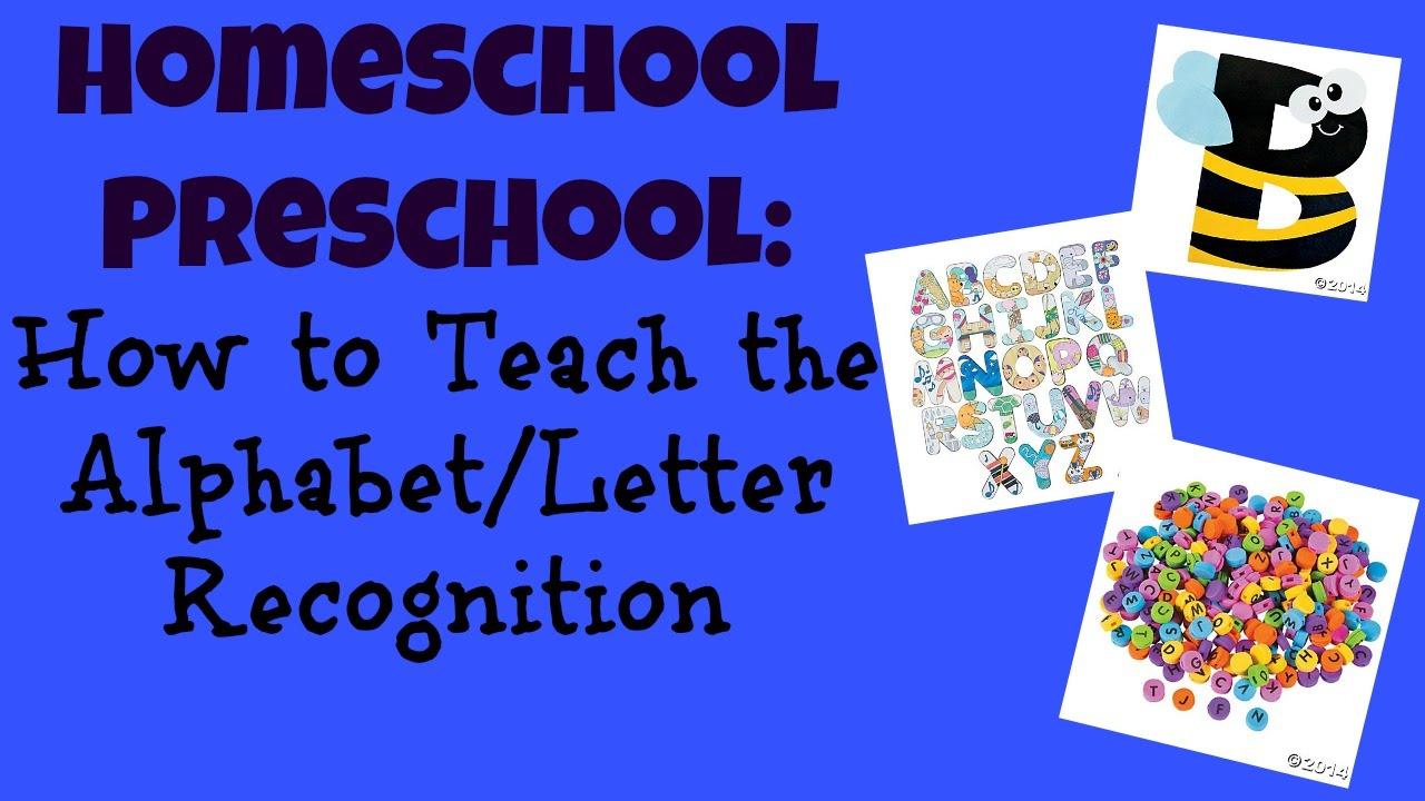 Homeschool Preschool How To Teach The
