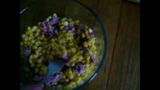Здоровое питание - Салат с тунцом.
