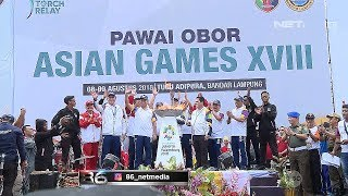 Download Video Pengamanan Pawai Obor Asian Games 2018 MP3 3GP MP4