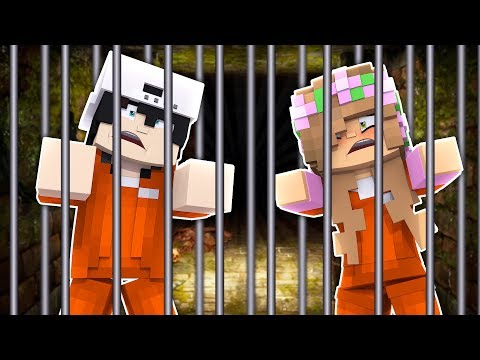 LITTLE KELLY AND RAVEN GET ARRESTED! Minecraft skittle Kelly