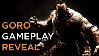 Goro Official  Gameplay Revealed - Mortal Kombat X