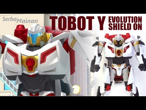 Toy Tobot Y Evolution Shield On | Young Toys | 2018 | indonesia