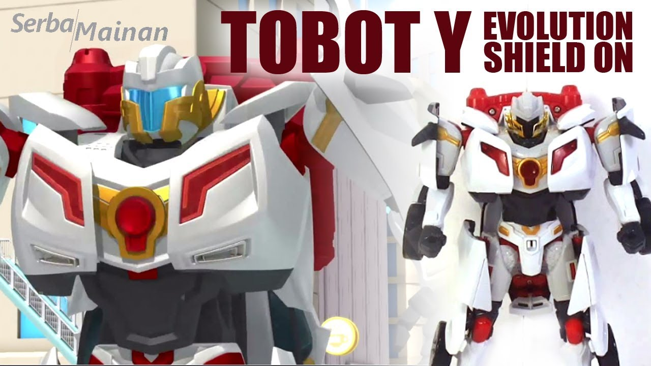 Toy Tobot Y Evolution Shield Young Toys 2018