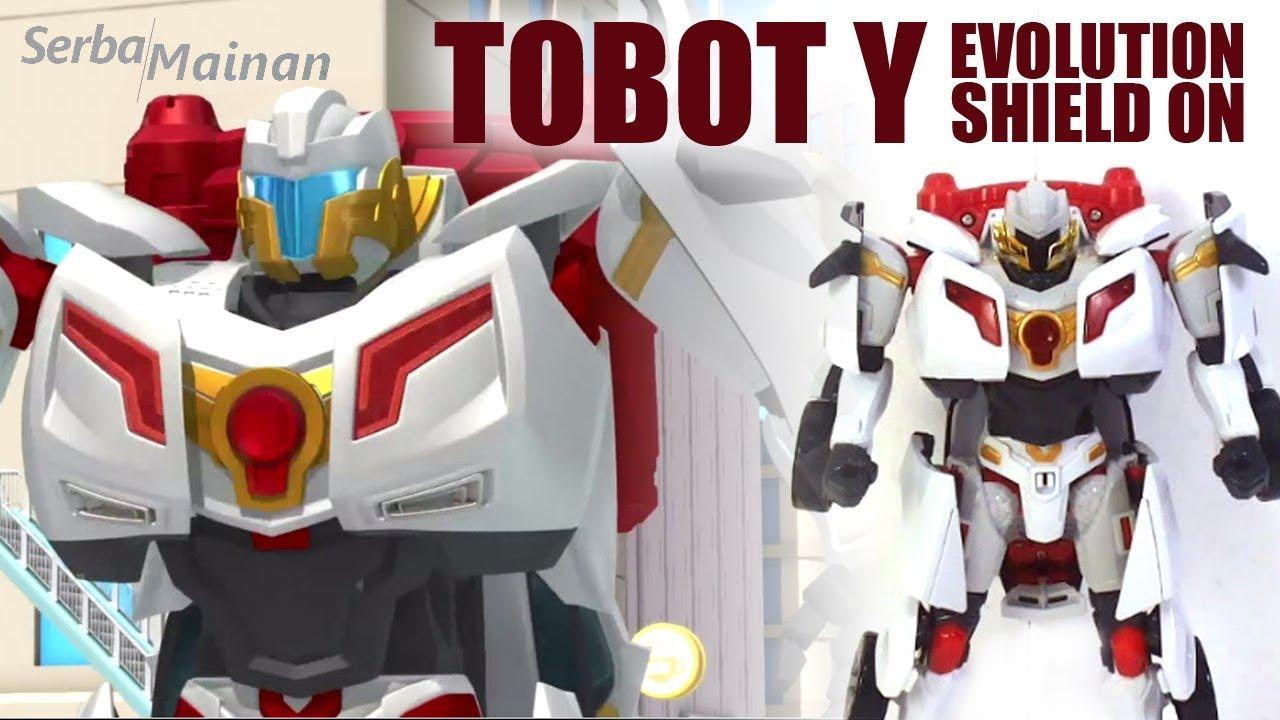 Mainan Tobot Y Evolution Shield On Mainan Anak Young Toys 2018