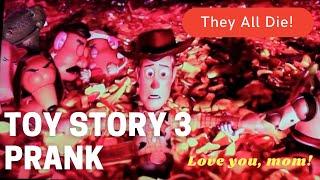 Toy Story 3 Prank