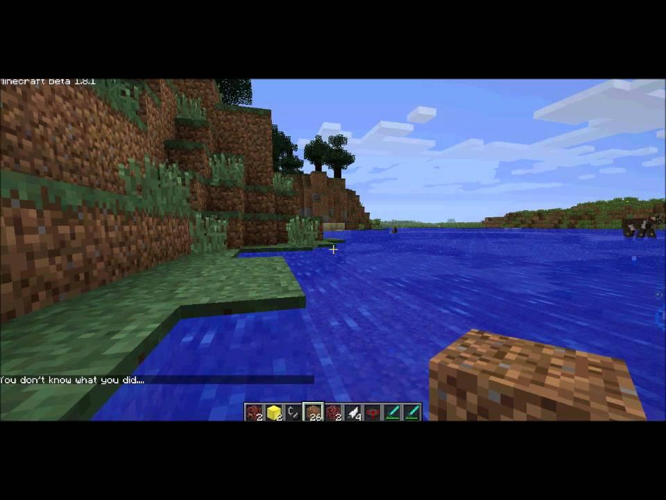 Minecraft- Notch vs. Herobrine- 2 BATTLES! - YouTube