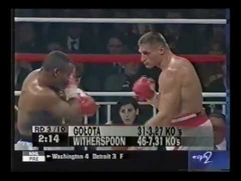 1998-10-02 Andrew Golota vs Tim Witherspoon