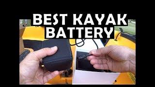 Nocqua Kayak Battery Installation - Best Kayak Battery